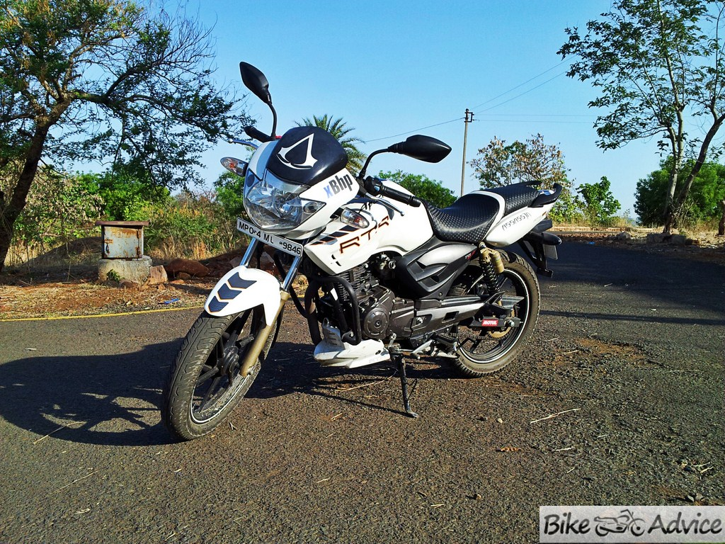 Apache Rtr 180 Abs User Review Pics Mileage Mods Performance
