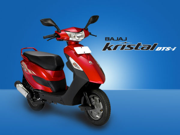 bajaj scooter launch kristal