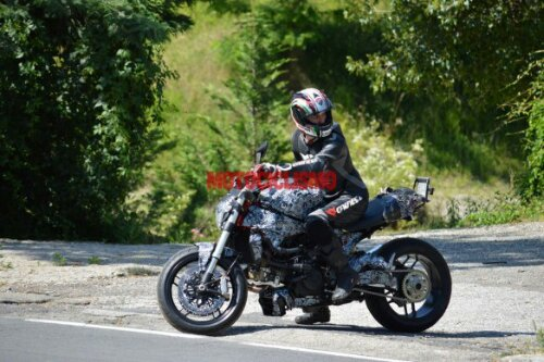 Ducati Monster 1198 Spy Pic