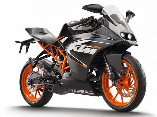 Ktm To Launch Rc200 Along With Rc390 On 9th September