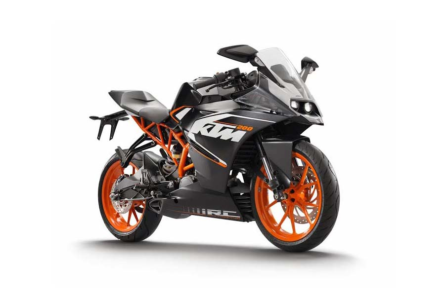 new car launches in early 2014KTM Starts Testing RC200RC390 in India Launch Early 2014