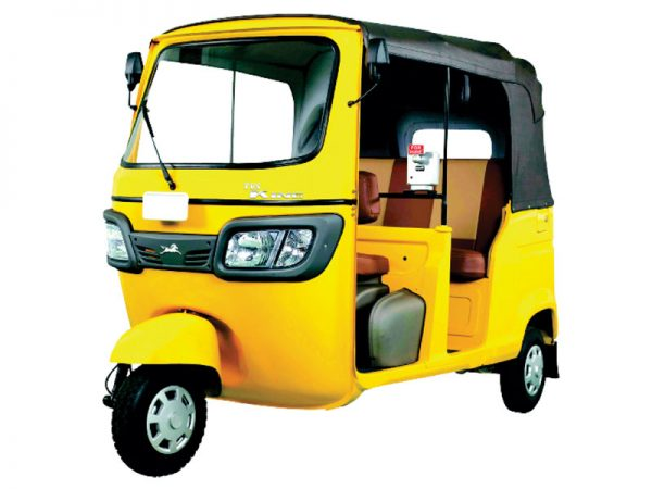 TVS King DS Auto Rickshaw to be Powered by G435 Greaves ...