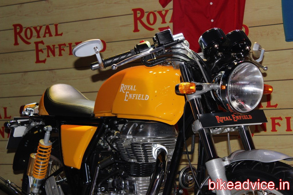 360 Degree Picture Gallery Of Yellow Re Continental Gt 15