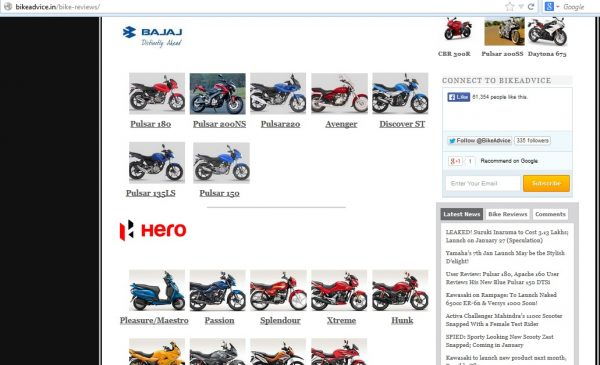 Bike-Reviews-Page