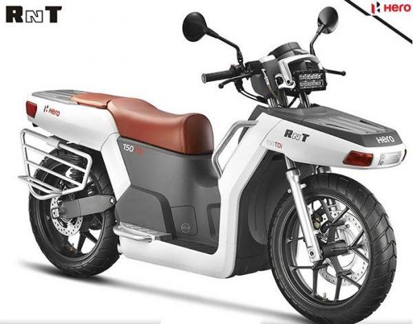Hero-RNT-Diesel-scooter-pic