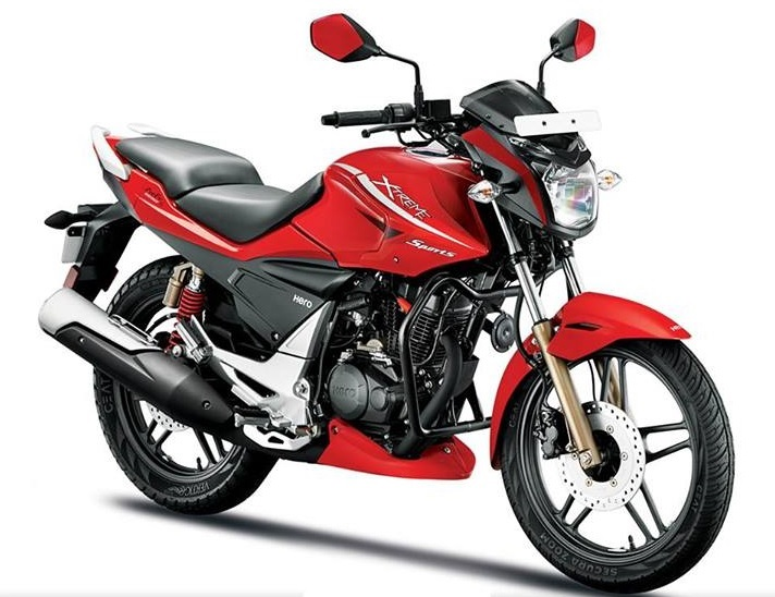 Apart from that Hero Xtreme Sports gets newer graphics and 'Sports