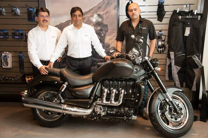 rebel motorcycles triumph launches showroom in hyderabad address amp pics