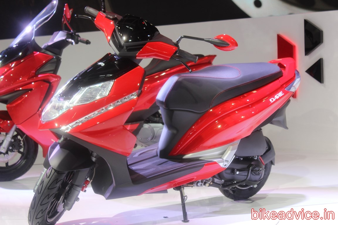 Scooter Hero Dare 125 Launch Pics Specs Amp All Details