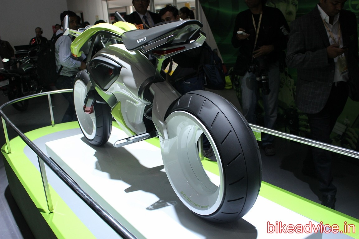 Hero Showcases Radical Ion Hydrogen Fuel Cell Motorcycle