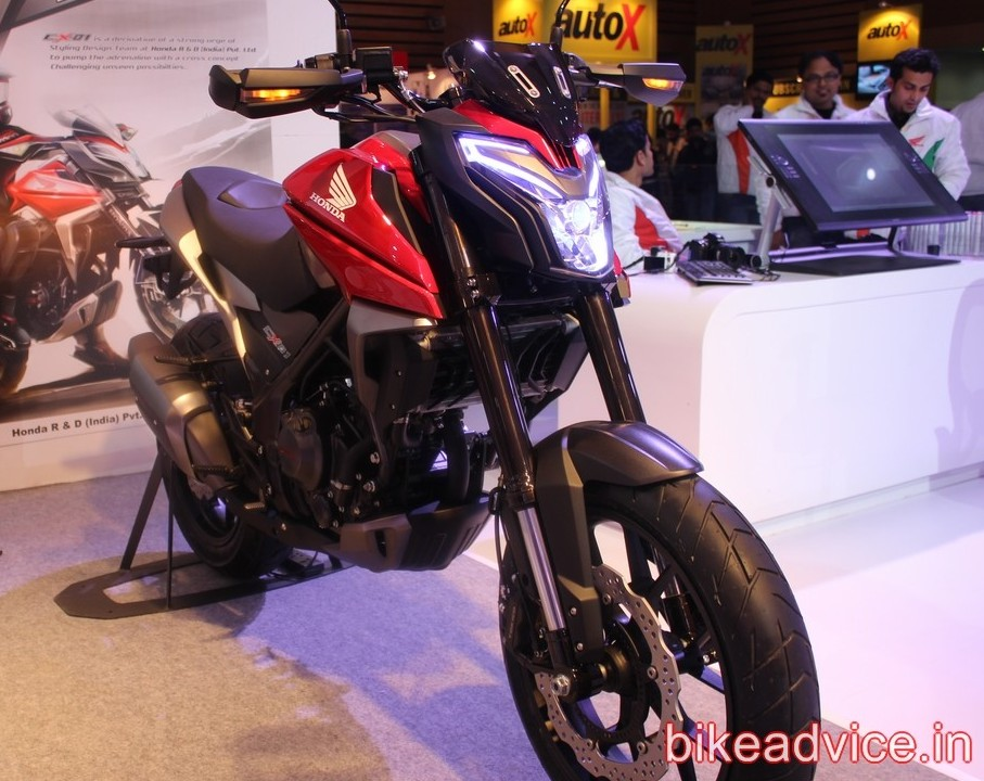 Honda S Upcoming 160cc Bike Not Based On Cx 01 Concept