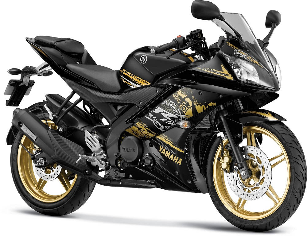 Yamaha r15 v2 new colors prices grid gold raring red for Black is the new color