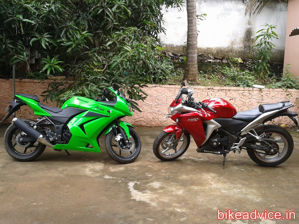user review ninja 300 from cbr250r user mileage disadvantages handling
