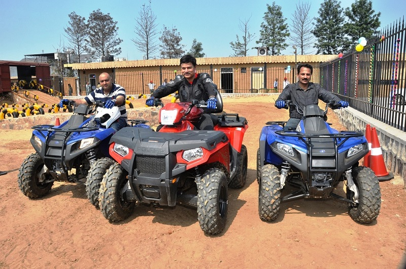 Off Road Experience At Just Rs 350 Polaris Launches Off Road Track