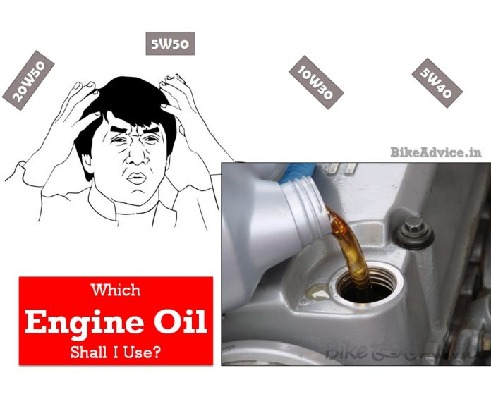 which engine oil shall i use 20w50 10w50 engine oil