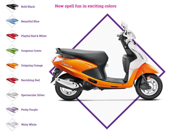 New 2014 Hero Pleasure Launched On Road Prices Brochure Details