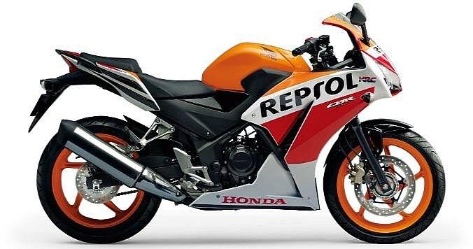 Honda to launch cbr300 like cbr250r repsol special edition for Honda cbr250r top speed