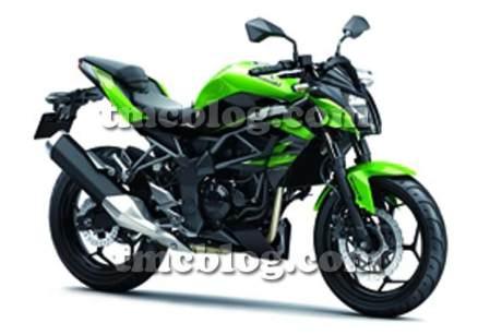 Kawasaki-Z250SL-Pic-green