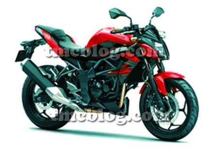 Kawasaki-Z250SL-Pic-red