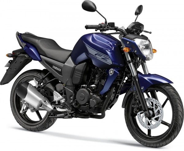 New-2014-YamahaFZ16-Ambush-Blue-Colour