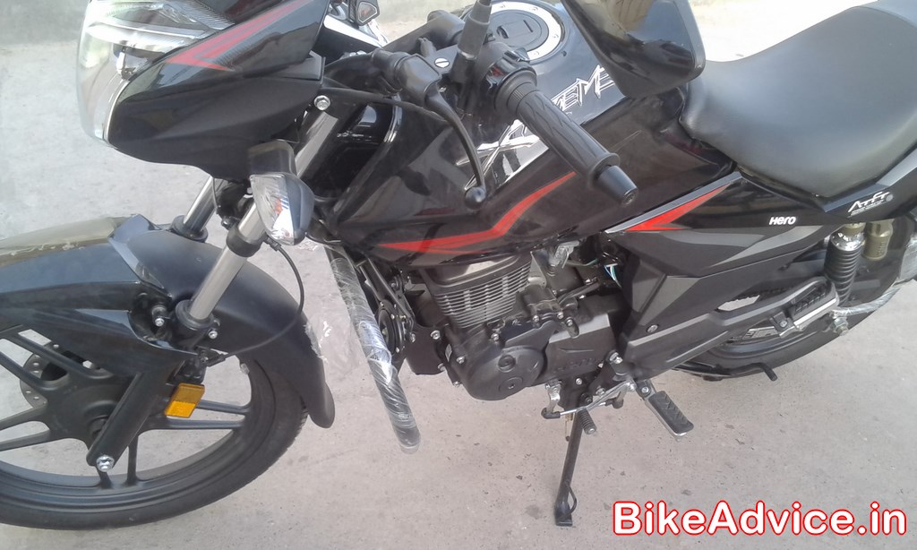 New 2014 Hero Xtreme Quick First Ride Review Reader Share