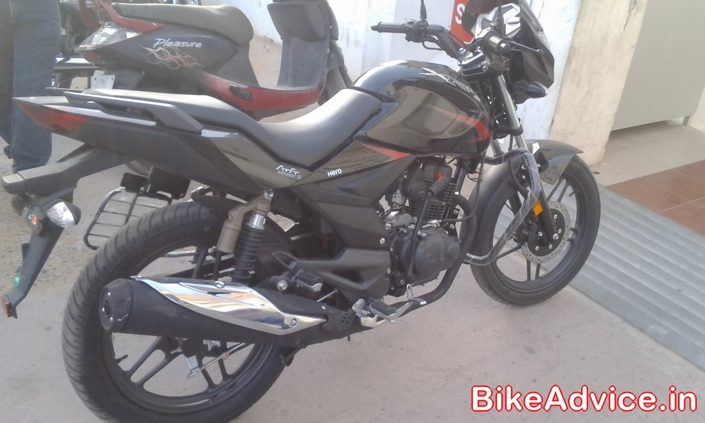 Bike Xtreme 2014 New Hero Xtreme Pics side