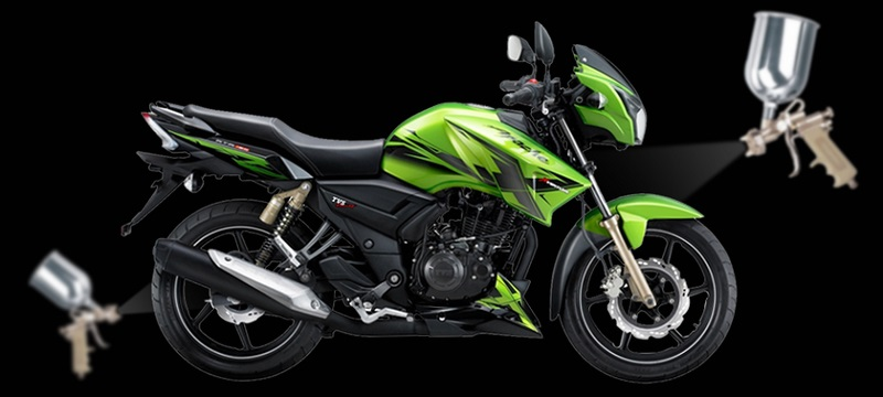 Tvs Launches Apache 180 Xventure Edition In Indonesia