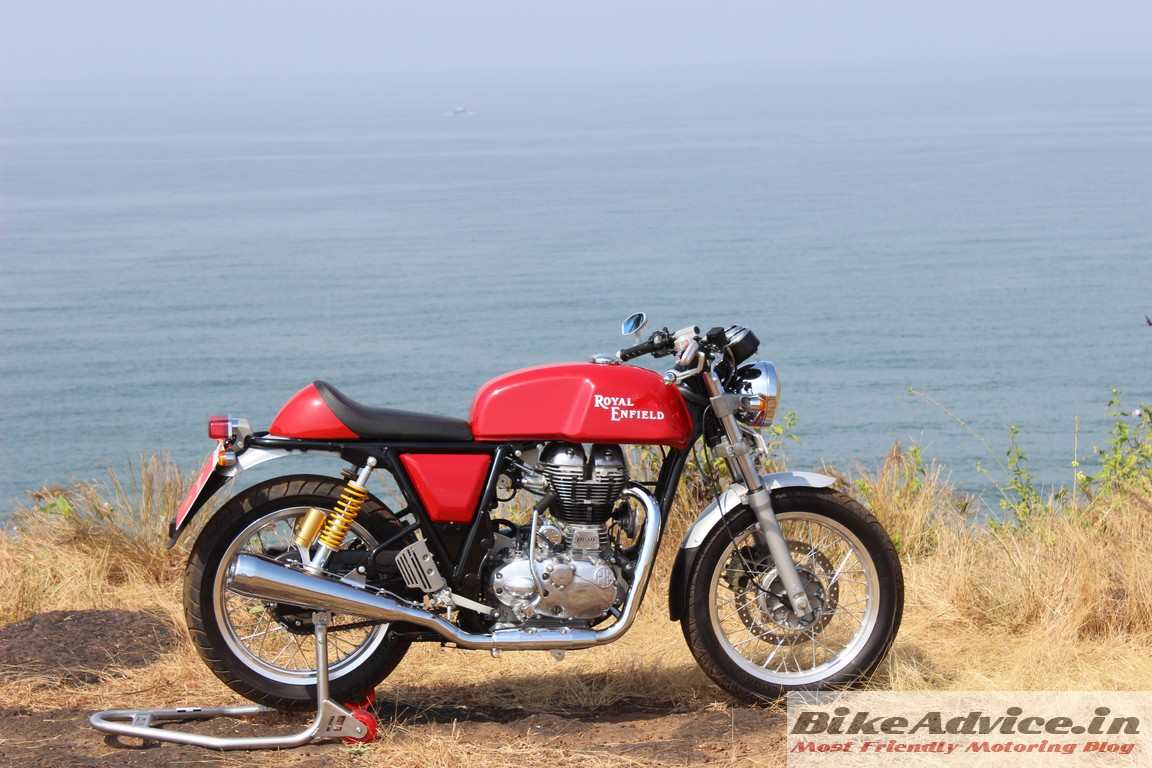 road test review royal enfield continental gt pics all details. Black Bedroom Furniture Sets. Home Design Ideas