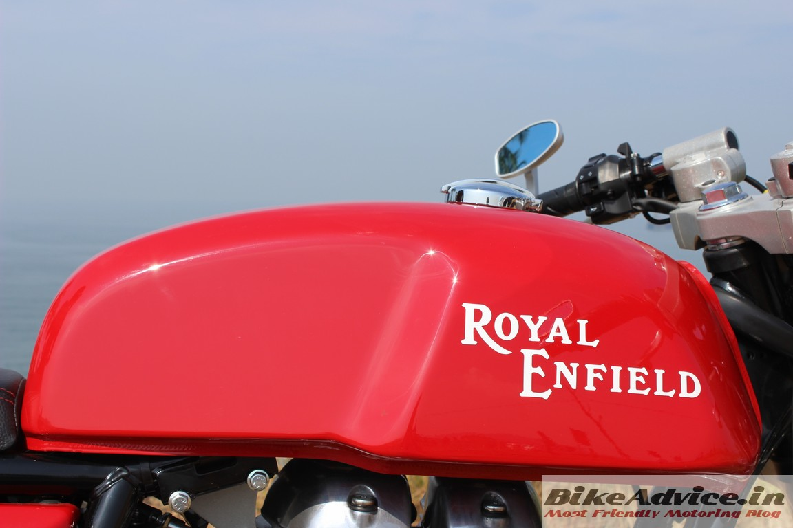 Royal Enfield Cafe Racer >> New Royal Enfield Tank Pictures to Pin on Pinterest - ThePinsta