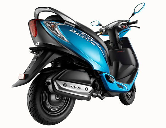 110cc Tvs Scooty Zest Launched Price Pics Features