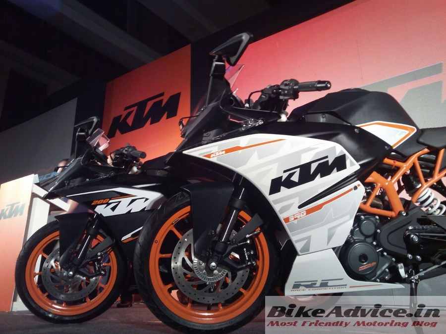 ktm rc390 & rc200 on road pune price, deliveries: bookings open