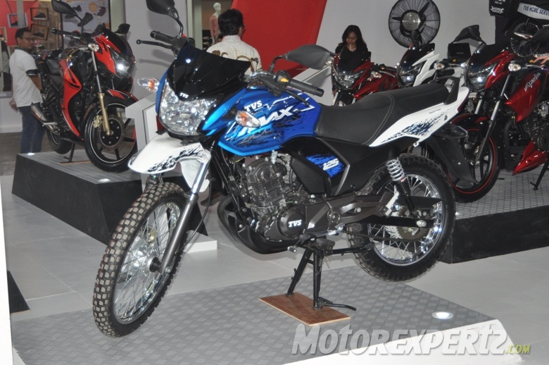 Spotted Tvs Off Road Adventure Bike Is Indonesia Spec Max 125