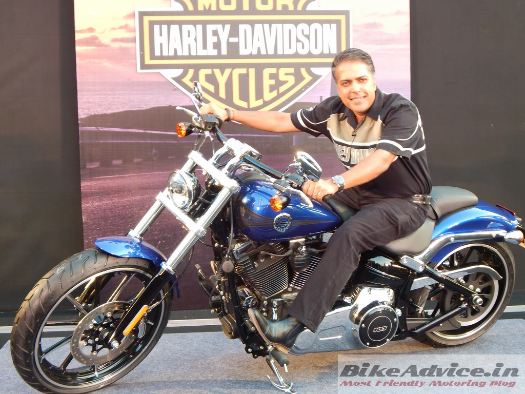 Harley-Breakout-India-Launch-Pic