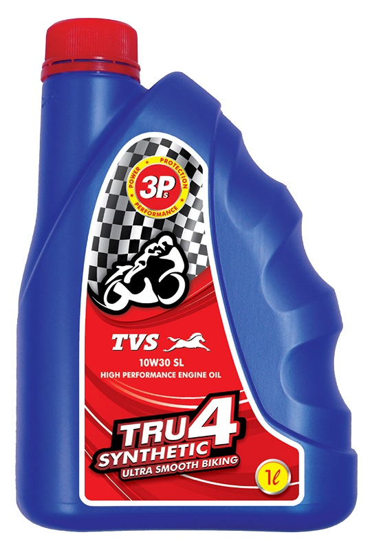 TVS Launches TRU4 Fully Synthetic Engine Oil for Rs 525 ...