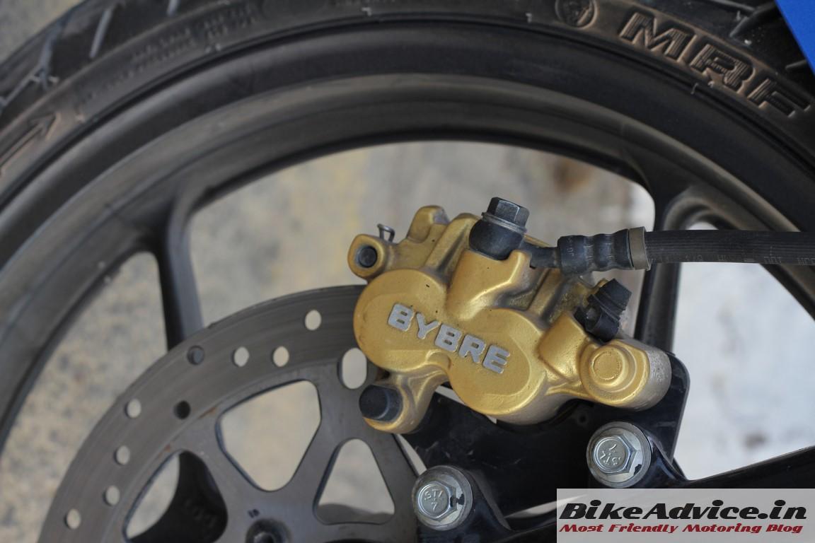 Gixxer front brake