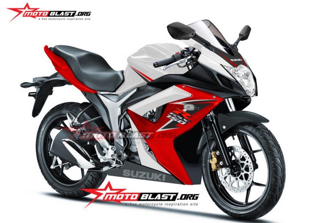 Faired Gixxer (GSX150R) Rendered Pic; Launch in 2015