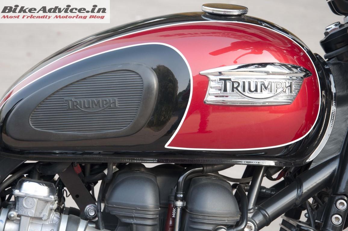Triumph Bonneville T100 India Pic Gallery