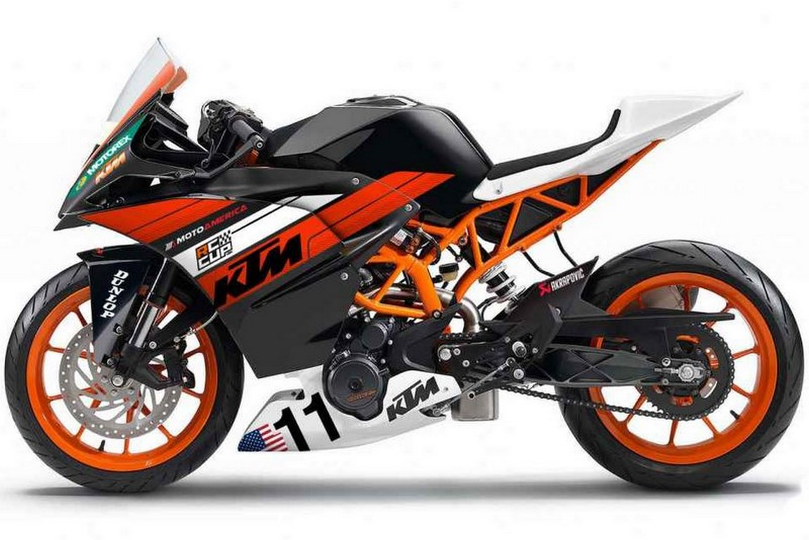 Motoamerica Rc390 Race Cup Bike Price Specs Amp Power Parts