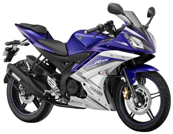 R15 V2 Red And White Yamaha R15 V2 Launched...