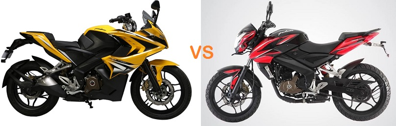 8 differences between pulsar rs200 vs 200ns price comparo