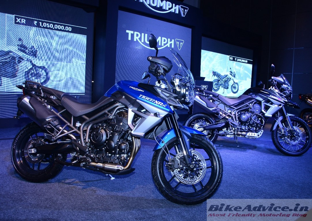 New 2015 Triumph Tiger XCx & XRx Launched: Price, Features, Pics