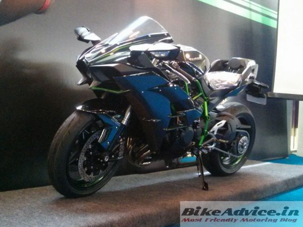 Kawasaki Ninja H2 Launched In India Price Pics Features