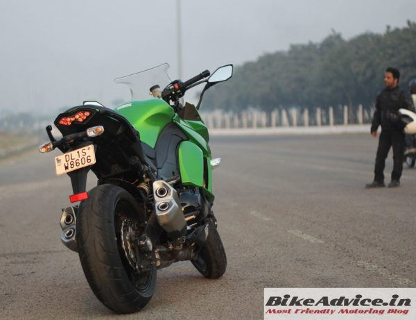 Kawasaki Ninja 1000 India Road Test Review Performance Practicality