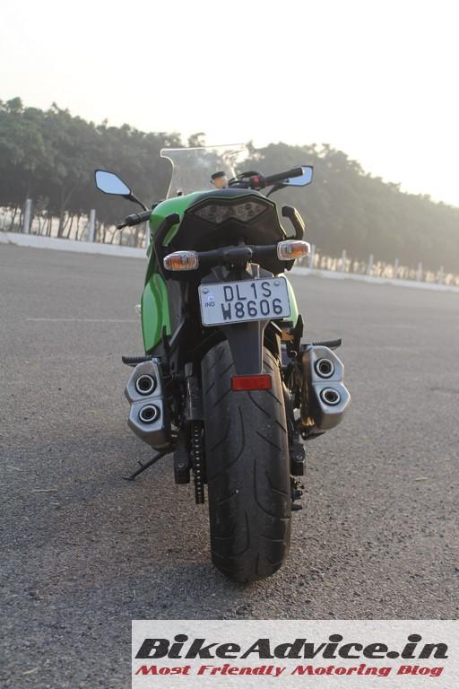 Ninja 1000 exhaust