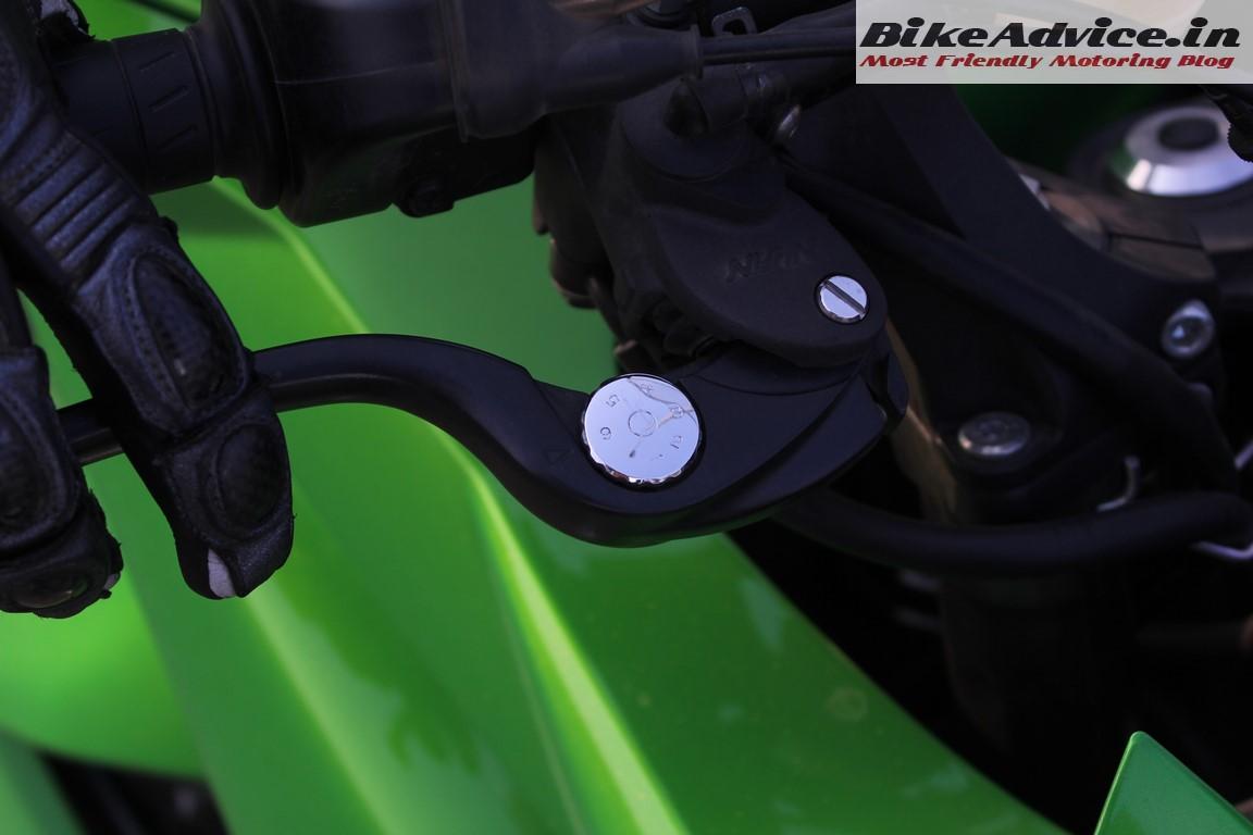 Ninja 1000 adjustable front brake lever