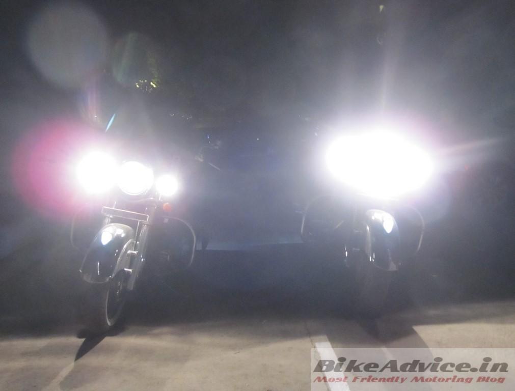 Indian motorycles headlamps