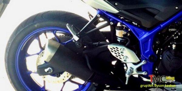 Yamaha MT 25 rear