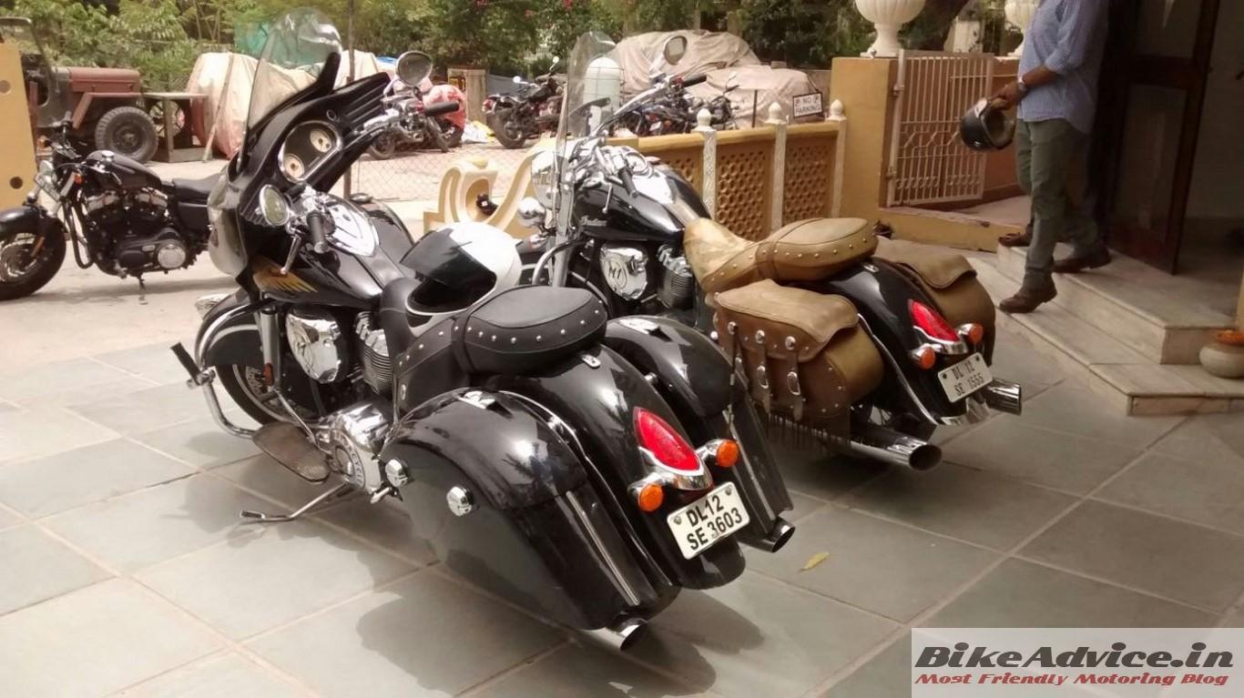 Indians dwarf the Harley