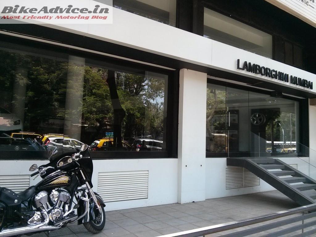 Lamborghini Mumbai Showroom