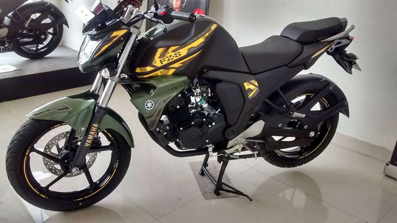 Battle Green Fz S V2 Spotted New Limited Edition Or
