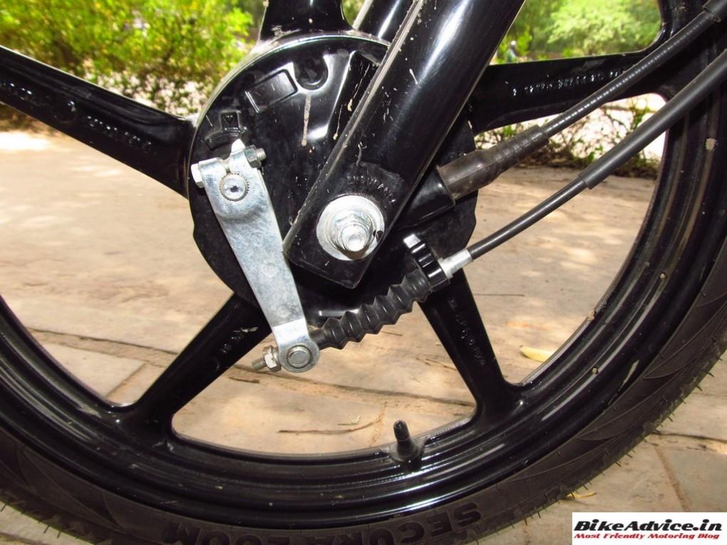 Yamaha Saluto Front Drum Brake